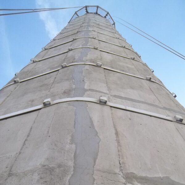 maintenance cheminées béton, réparation fissures 2